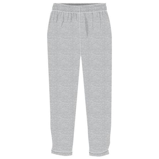 Image sur Pantalon ouaté - Education physique (Gris)