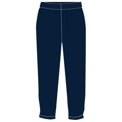 Image de Pantalon ouaté - Vêtements réguliers (Marine)